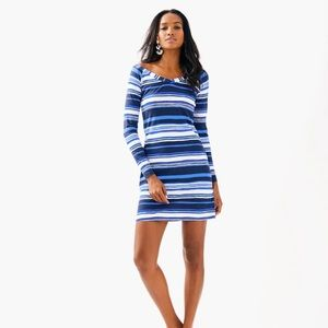 Lilly Pulitzer- Suzanne stripe dress 30062